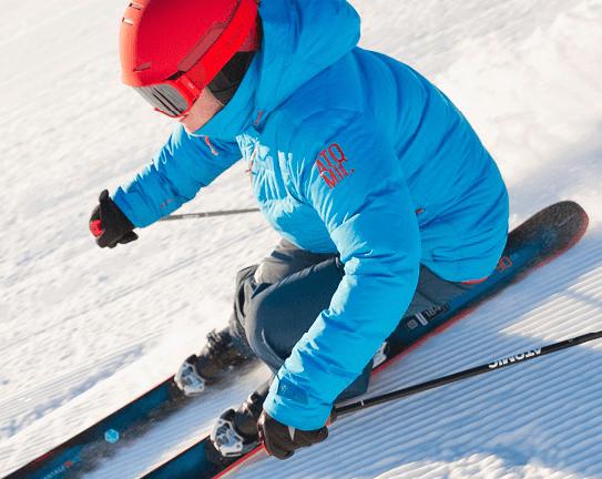 skieur salomon amer sport