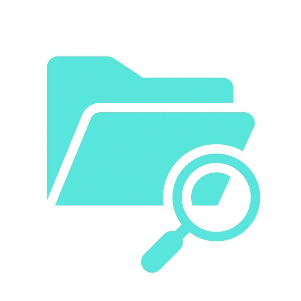 Recherche facile dans la bibliothèque de ressources